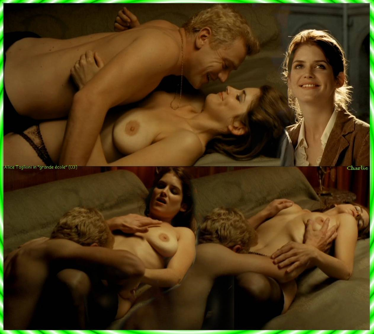 Alice Taglioni entièrement nue