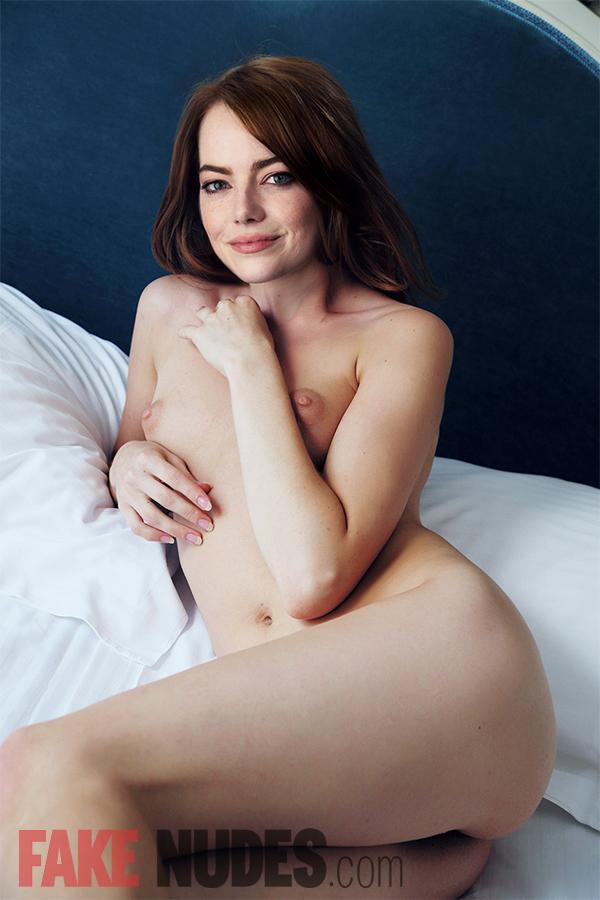 Emma Stone entièrement nu