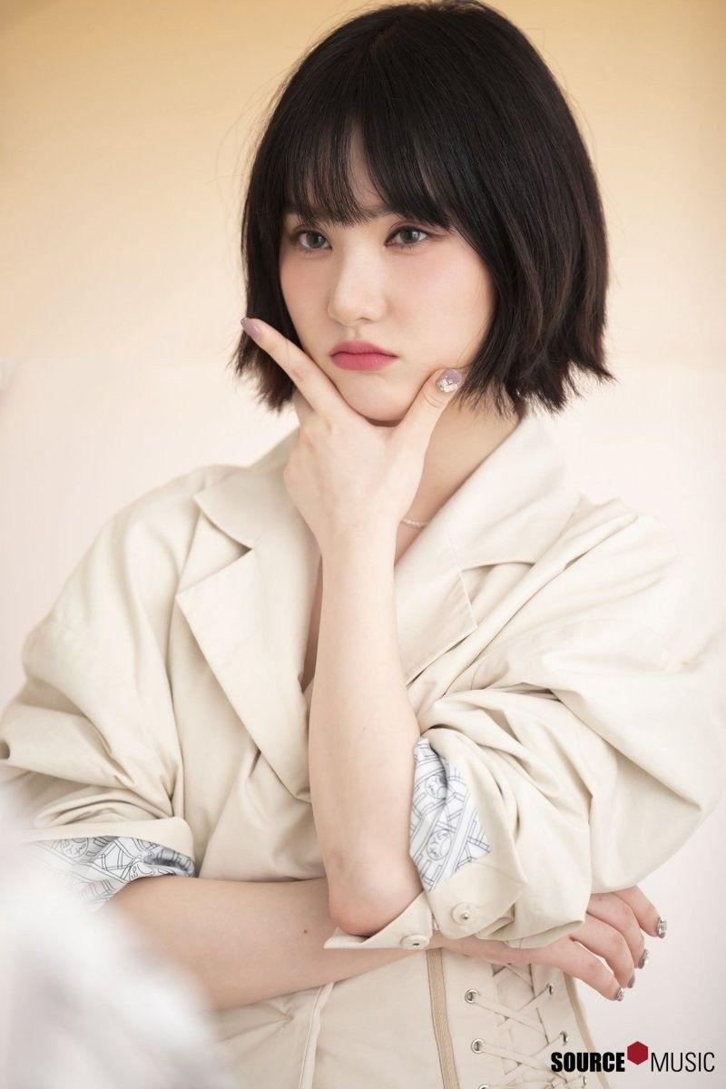 Femme asiatique à poil