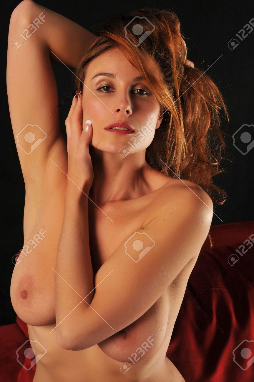 Femme russe entièrement nu
