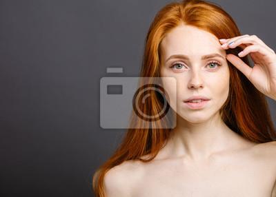 Image Femme rousse image (vraiment) nu