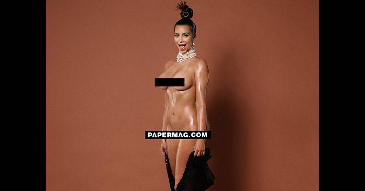 Kim Kardashian nue intégral