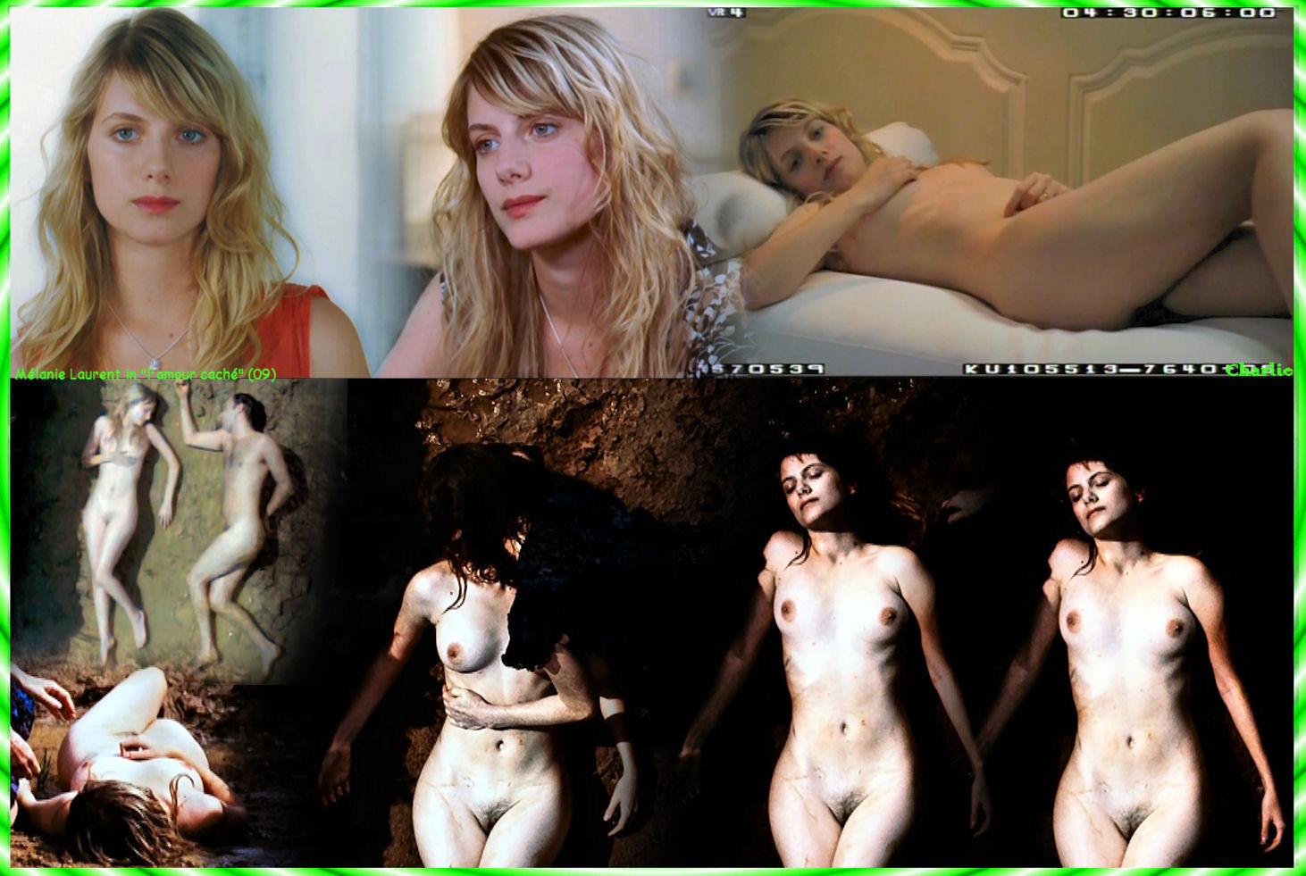 Melanie Laurent nue sur internet